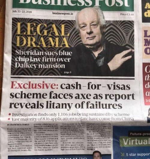 [新聞] 愛爾蘭移民局再次重申,融資貸款模式不合法!